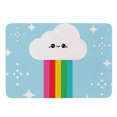 Mr. Rainbow Memory Foam Bath Mat Size: 36 L x 24 W