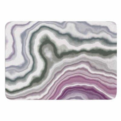 Memory Foam Bath Mat Size: 24 L x 17 W