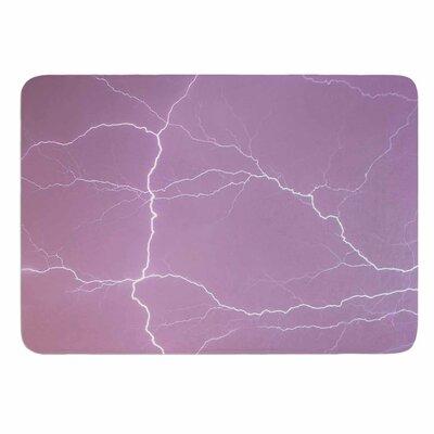 Pastel Lightning Memory Foam Bath Mat Size: 36 L x 24 W