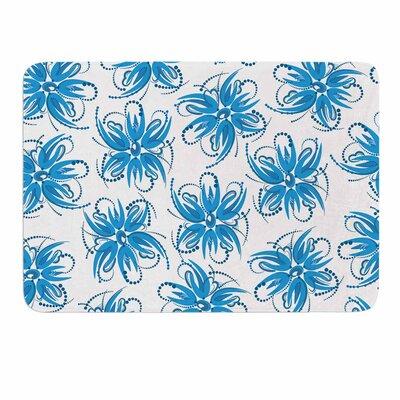 Flower Centaur 1 by Maria Bazarova Memory Foam Bath Mat Size: 24 L x 17 W