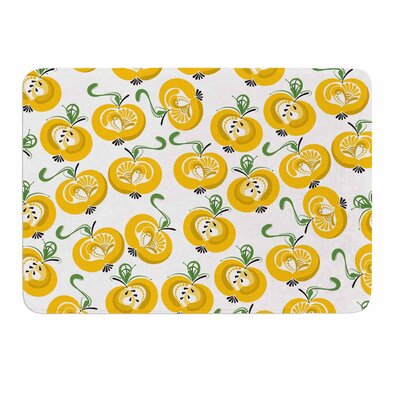 Apple by Maria Bazarova Memory Foam Bath Mat Size: 24 L x 17 W