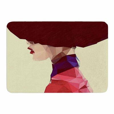 Chic Hat by Mayka ienoVa Memory Foam Bath Mat Size: 24 L x 17 W