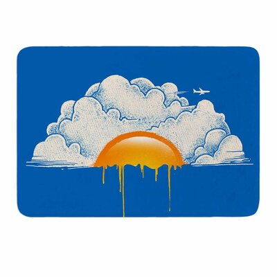 Breakfast by Digital Carbine Memory Foam Bath Mat Size: 24 L x 17 W