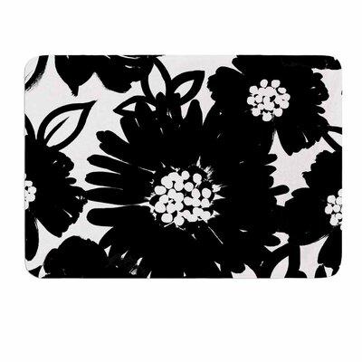 Monochromatic Blooms by Emine Ortega Memory Foam Bath Mat Size: 36 L x 24 W