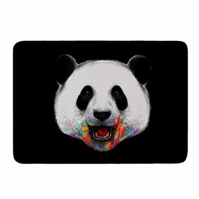 Where Is The Rainbow? by Digital Carbine Memory Foam Bath Mat Size: 24 L x 17 W