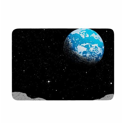 From the Moon by Digital Carbine Memory Foam Bath Mat Size: 24 L x 17 W