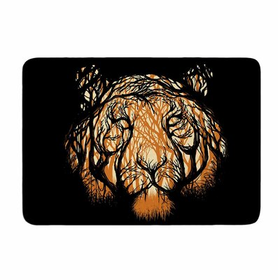 Hidden Hunter by Digital Carbine Memory Foam Bath Mat Size: 24 L x 17 W