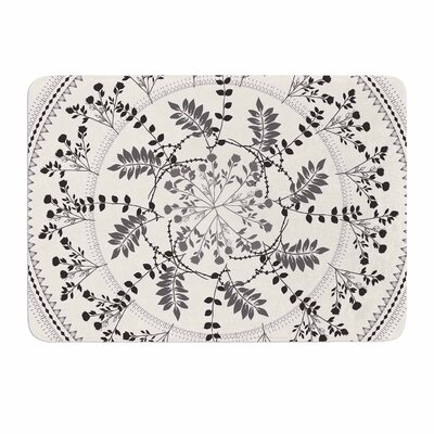 Magical Vibes Boho Madellion by Famenxt Memory Foam Bath Mat Size: 24 L x 17 W