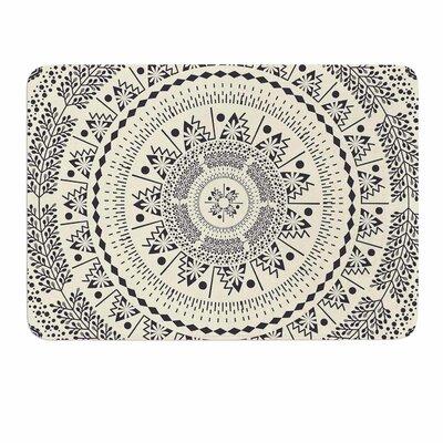 Swadesi Soft Boho Mandala by Famenxt Memory Foam Bath Mat Size: 36 L x 24 W