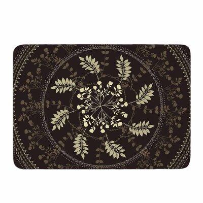 Reborn Mandala by Famenxt Memory Foam Bath Mat Size: 24 L x 17 W