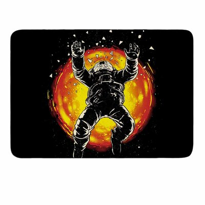 Lost in The Space by Digital Carbine Memory Foam Bath Mat Size: 36 L x 24 W