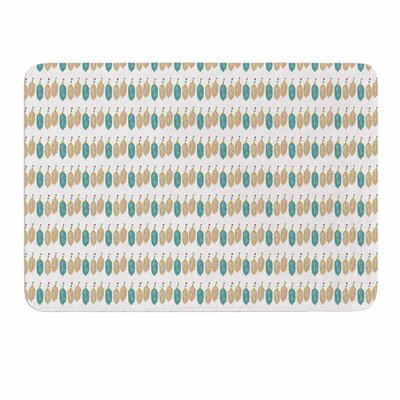 Color Dream by Petit Griffin Memory Foam Bath Mat Size: 24 L x 17 W
