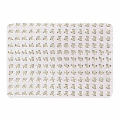 Red Drops by Petit Griffin Memory Foam Bath Mat Size: 24 L x 17 W