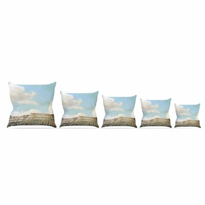Out West Throw Pillow Size: 20 H x 20 W x 7 D