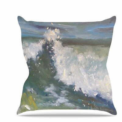 The Crest Throw Pillow Size: 16 H x 16 W x 6 D
