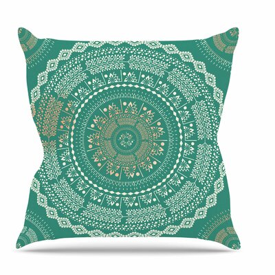 Medallion Throw Pillow Size: 18 H x 18 W x 6 D