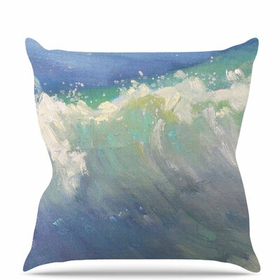 Caribben Throw Pillow Size: 16 H x 16 W x 6 D