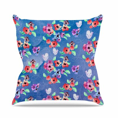 Signs of Spring Throw Pillow Size: 18 H x 18 W x 6 D