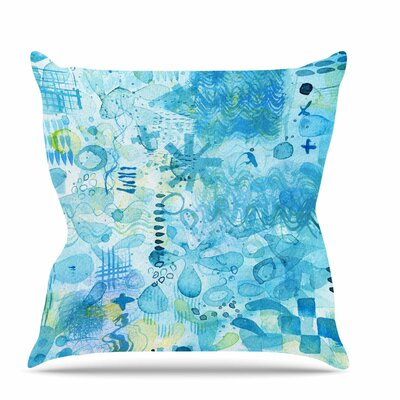 Floating Throw Pillow Size: 16 H x 16 W x 6 D