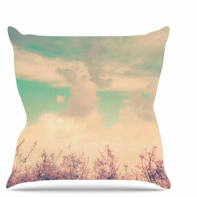 Spring Daydream Throw Pillow Size: 18