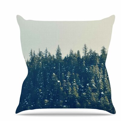 Take the Road Less Traveled Throw Pillow Size: 18 H x 18 W x 6 D