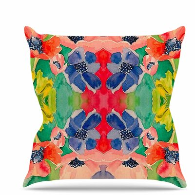 Spring Time Throw Pillow Size: 26 H x 26 W x 7 D