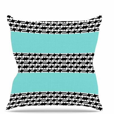 Pruga Throw Pillow Size: 18 H x 18 W x 6 D