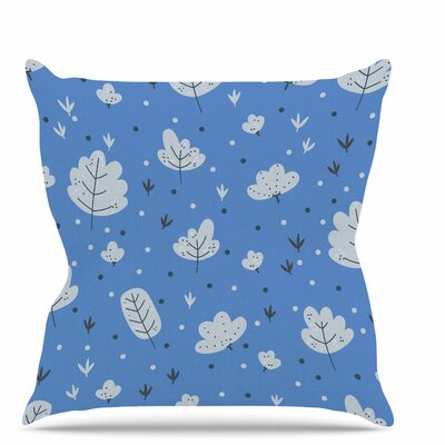 Autumn Leaves Throw Pillow Size: 18 H x 18 W x 6 D