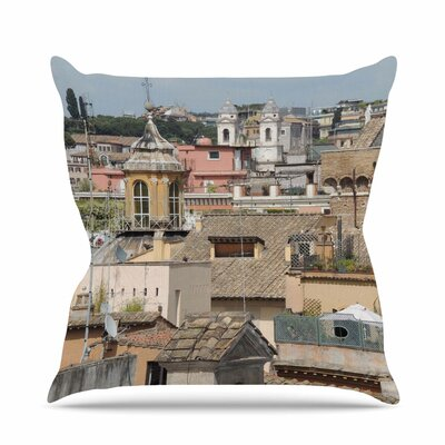 Florence Italy Hillside Throw Pillow Size: 20 H x 20 W x 7 D