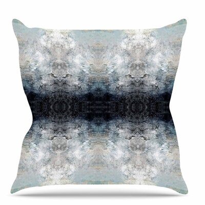 Heavenly Abstraction l Throw Pillow Size: 20 H x 20 W x 7 D