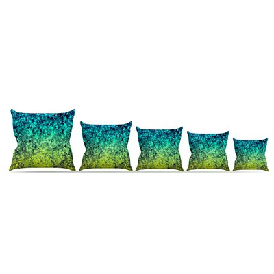 Ombre Love Throw Pillow Size: 16 H x 16 W x 6 D