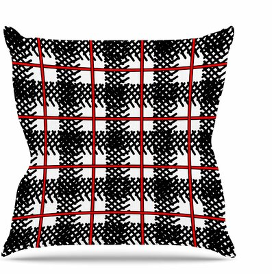 Kariran Throw Pillow Size: 20 H x 20 W x 7 D