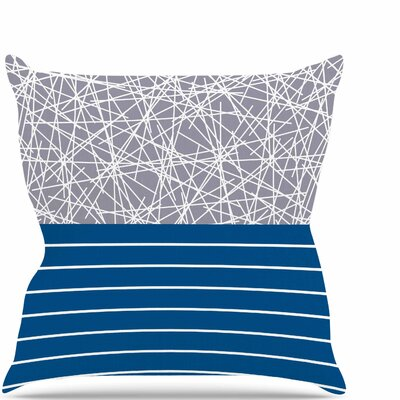 Odvojen Throw Pillow Size: 16 H x 16 W x 6 D