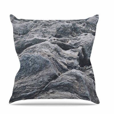 Stone Landscape Throw Pillow Size: 16 H x 16 W x 6 D