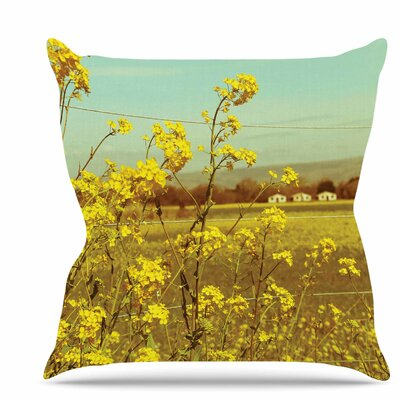 Spring Breeze Throw Pillow Size: 26 H x 26 W x 7 D