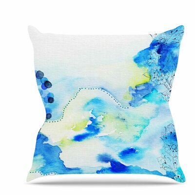 Deep Sea Throw Pillow Size: 26 H x 26 W x 7 D