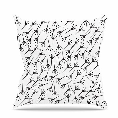 Branch Throw Pillow Size: 18 H x 18 W x 6 D