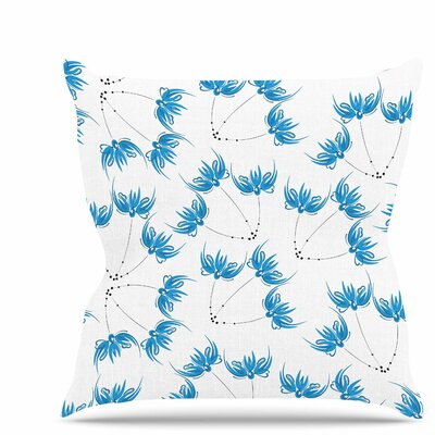Flower Centaur 2 Throw Pillow Size: 16 H x 16 W x 6 D