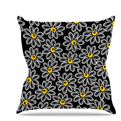 Chamomile Throw Pillow Size: 26 H x 26 W x 7 D