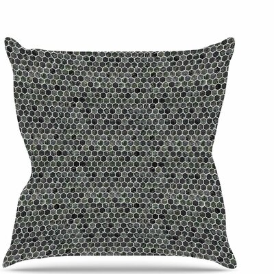 Marble Throw Pillow Size: 26 H x 26 W x 7 D