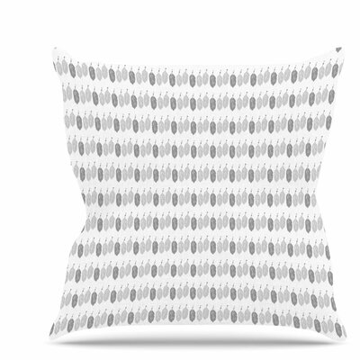 Feathers Throw Pillow Size: 18 H x 18 W x 6 D
