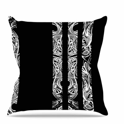 Lines Throw Pillow Size: 16 H x 16 W x 6 D