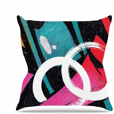 Channel Zero Throw Pillow Size: 20 H x 20 W x 7 D