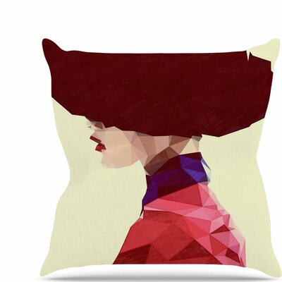 Chic Hat Throw Pillow Size: 18 H x 18 W x 6 D