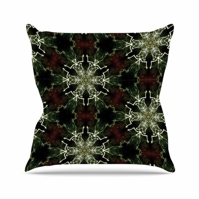 Mandala Lights Throw Pillow Size: 18 H x 18 W x 6 D