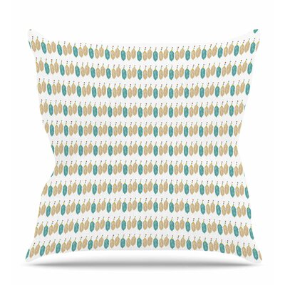 Colour Dream Throw Pillow Size: 16 H x 16 W x 6 D