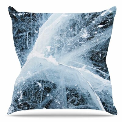 Deep Winter Throw Pillow Size: 16 H x 16 W x 6 D