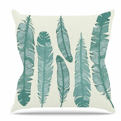 Balsam Feathers Throw Pillow Size: 16 H x 16 W x 6 D