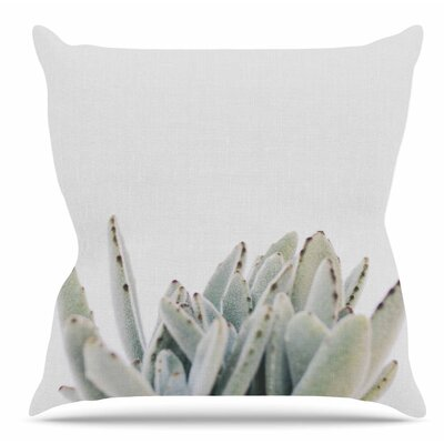 Succulent 3 Throw Pillow Size: 18 H x 18 W x 6 D