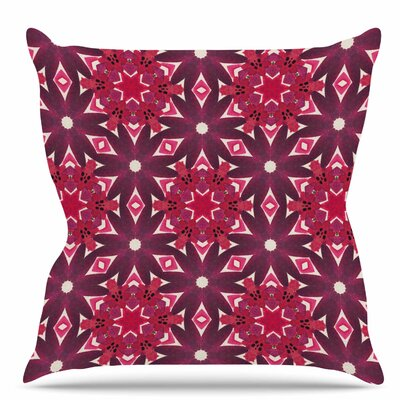 Blooming Echinacea Throw Pillow Size: 18 H x 18 W x 6 D